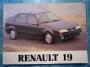 Renault 19 Bedienungsanleitung